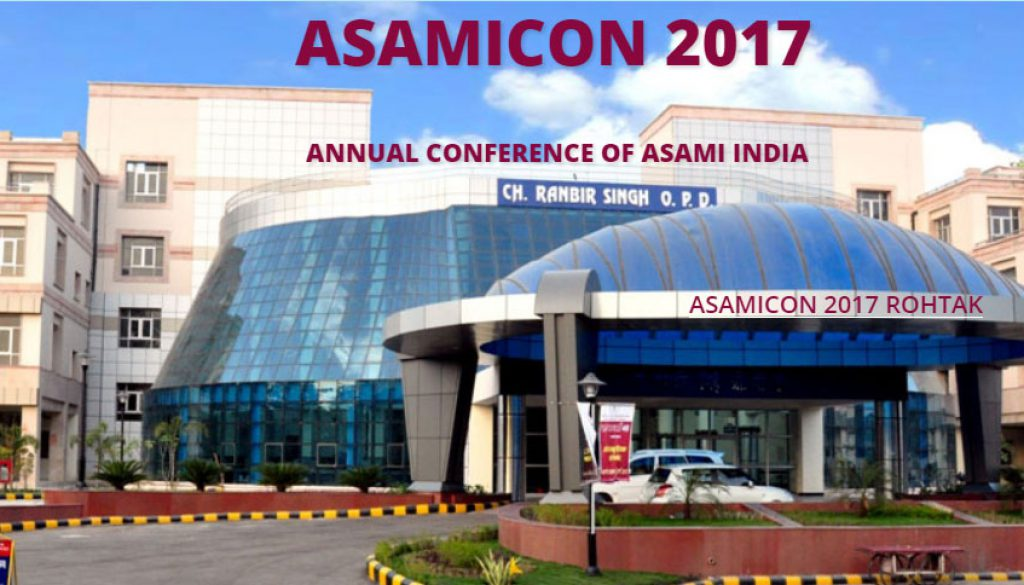 ASAMICON – 2017, Rohtak  8-10 Dec 2017
