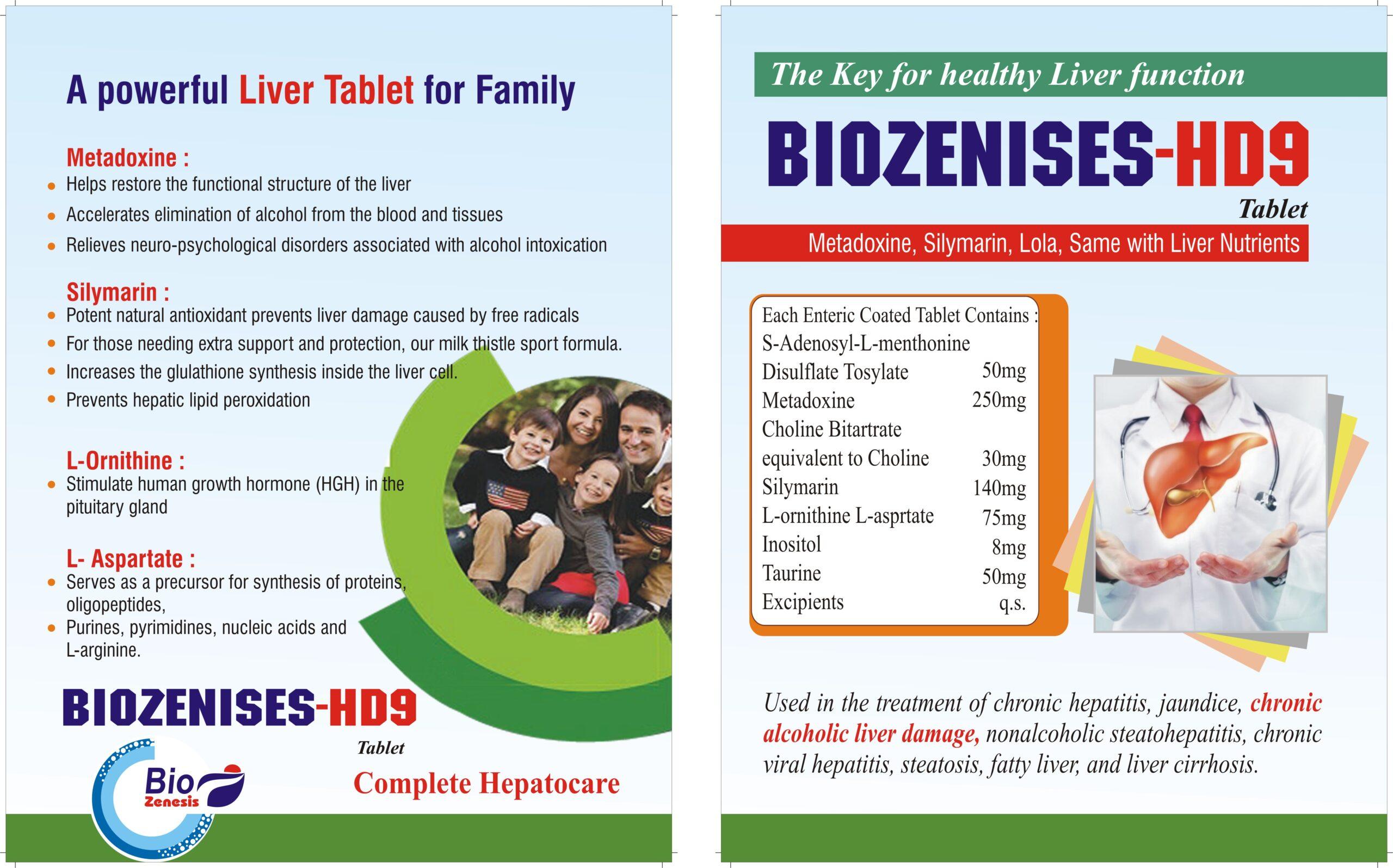 Biozenises-HD9 tab